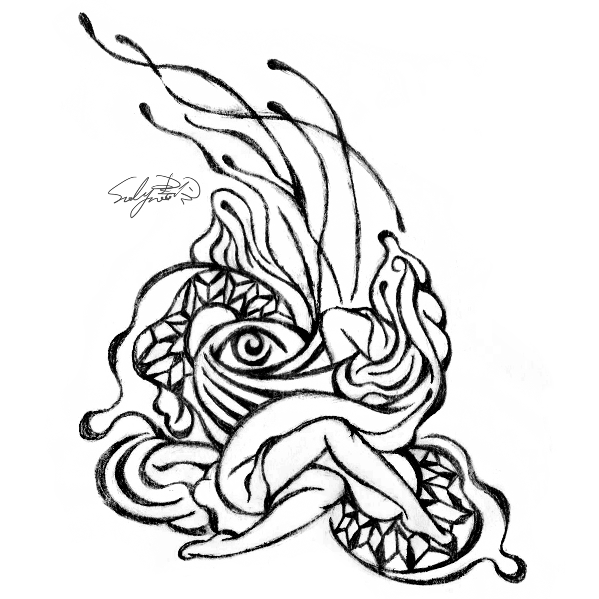 suelynee drawing 何書伶