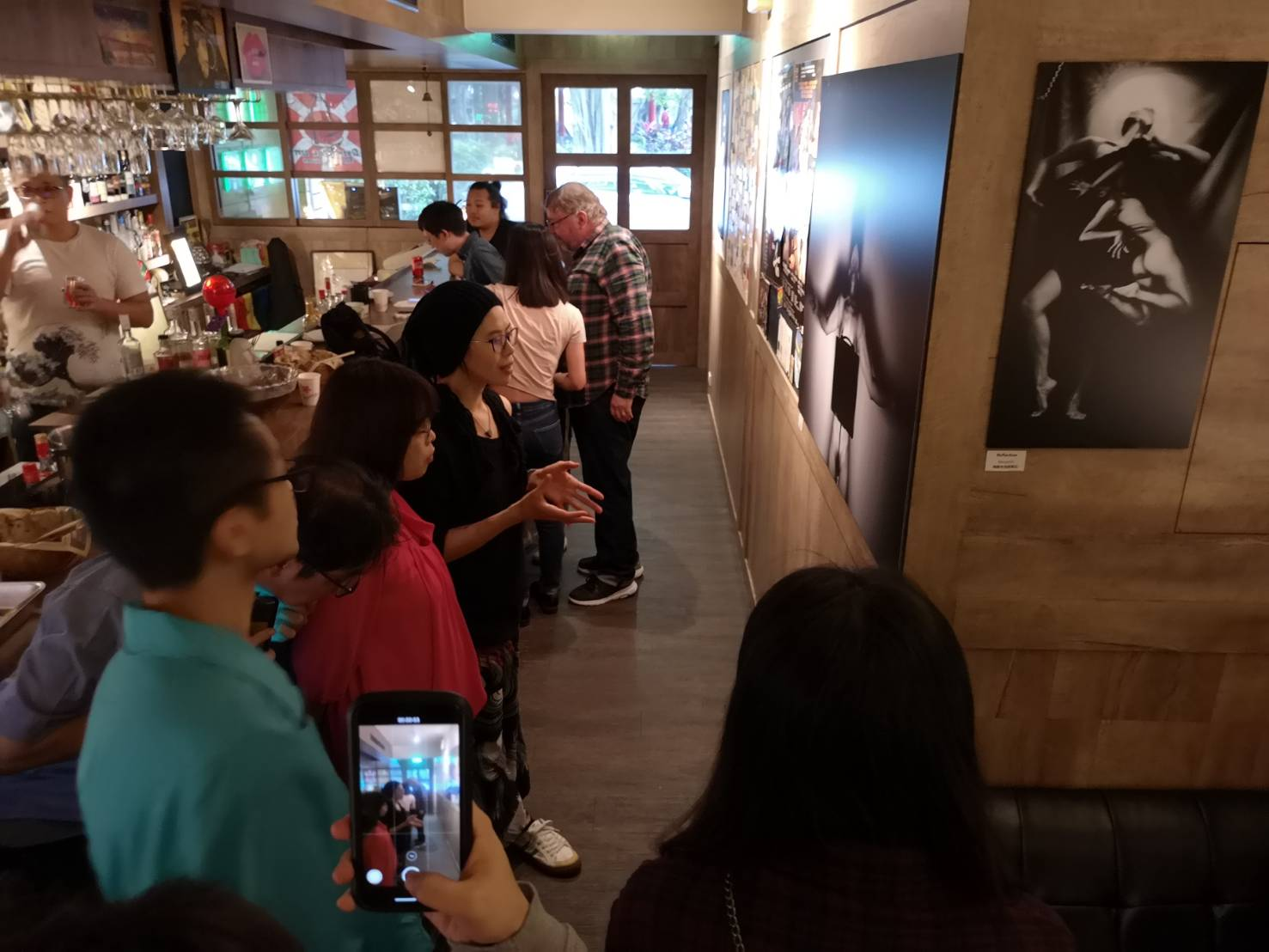 Reflection - Suelynee's Solo Exhibition opening